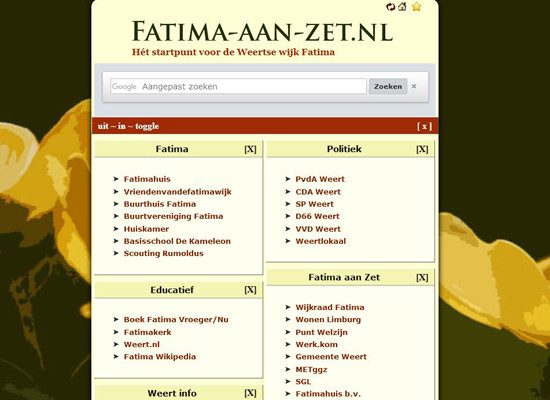 fatima aan zet